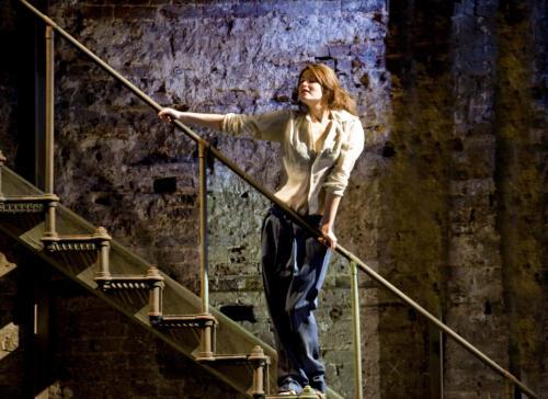 Travis Preston The Master Builder at the Almeida in London - with Gemma Arterton and Stephen Dillane.